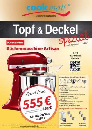 Kitchen Aid Vorführung bei Cookmal - LuisenForum Wiesbaden