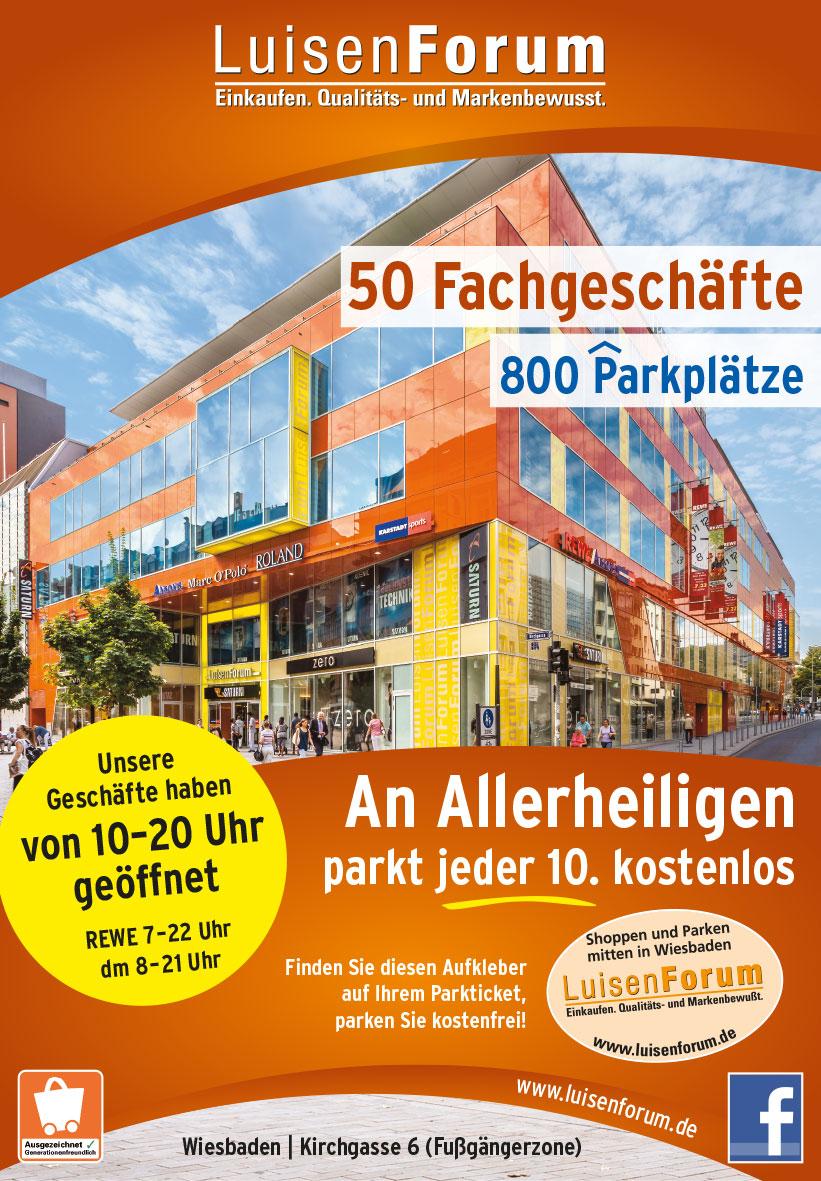 Wiesbaden Parken Kostenlos