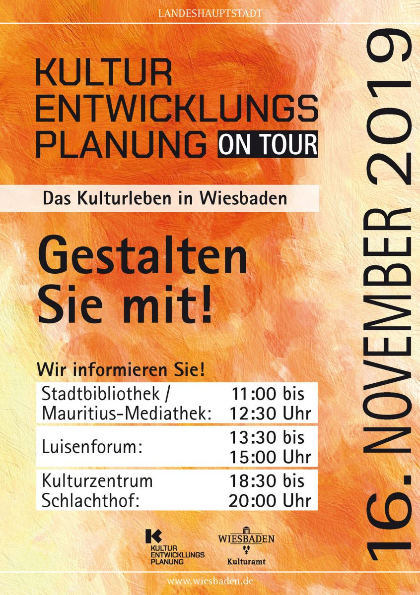 KEP on Tour am 16.11.2019 im LuisenForum Wiesbaden