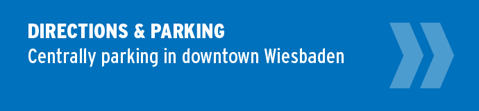 Directions & Parking — Centrally parking in downtown Wiesbaden